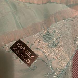 Silk scarf!!! Soft and elegant! Brand new!